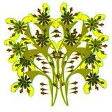 Textura das flores 4-01 Imagem de Stock Royalty Free