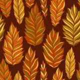 A textura das folhas Imagens de Stock