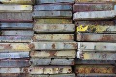 A textura das madeiras. Fotografia de Stock Royalty Free