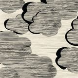 Textura das nuvens Fotografia de Stock Royalty Free