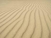 Textura das ondinhas da areia Fotos de Stock Royalty Free