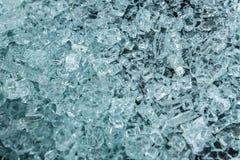 Textura das partes de vidro seguro quebrado imagem de stock royalty free