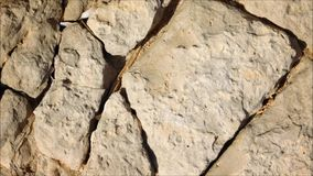 Textura das pedras mim vídeos de arquivo