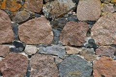 Textura das pedras A rua apedreja o fundo Imagem de Stock Royalty Free
