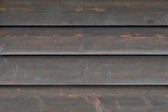 Textura das placas de madeira pretas desvanecidas, fim do fundo acima Fotografia de Stock Royalty Free