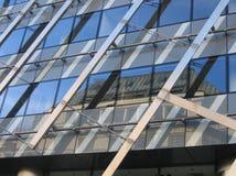 Textura das reflexões da cidade de Praga Fotografia de Stock Royalty Free