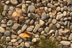Textura das rochas Fotografia de Stock