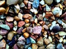 Textura das rochas Categoria, duramente rochas do colourfull imagens de stock