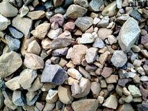 Textura das rochas Categoria, duramente rochas do colourfull foto de stock