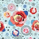 Textura das rosas Foto de Stock