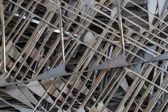 Textura de aço fotografia de stock
