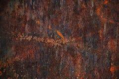 A textura de aço de Corten, placa de aço rústica, resistindo ao aço, oxidou o fundo do metal, o marrom e o alaranjado imagem de stock royalty free