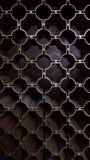 Textura de aço da parede Imagens de Stock