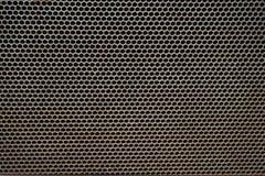 textura de aço do hexágono Fotos de Stock Royalty Free