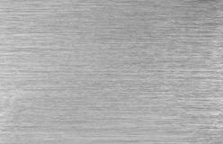 Textura de aço escovada do metal Imagens de Stock