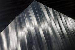 Textura de aço inoxidável do metal Fotos de Stock
