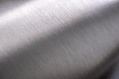 Textura de aço inoxidável, metal arredondado fotografia de stock