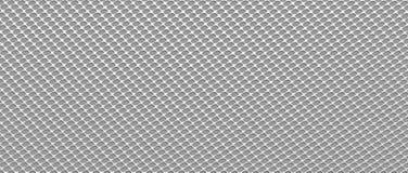 Textura de aço na grade do formulário 3d rendem ilustração do vetor