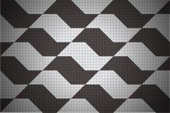 Textura de aceras de Sao Paulo Fotografía de archivo libre de regalías
