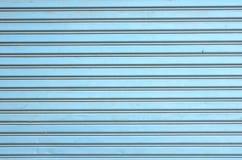 Textura de acero de la puerta del obturador foto de archivo libre de regalías