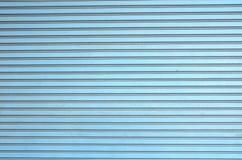 Textura de acero de la puerta del obturador fotografía de archivo libre de regalías
