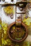 Textura de acero oxidada Foto de archivo libre de regalías