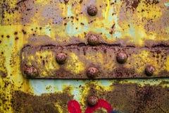 Textura de acero oxidada Imágenes de archivo libres de regalías