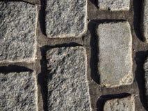 Textura de adoquines Fotografía de archivo libre de regalías
