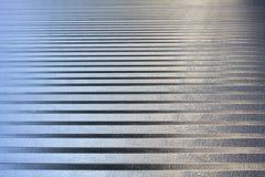 Textura de alumínio Imagem de Stock
