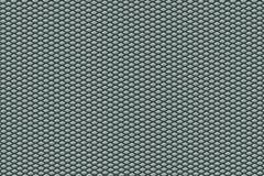 Textura de alumínio de Pentagon Fotos de Stock Royalty Free