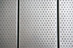 Textura de aluminio Imágenes de archivo libres de regalías