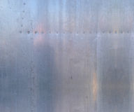 Textura de aluminio Fotos de archivo
