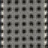 Textura de aluminio de la parrilla del altavoz Imagen de archivo