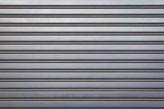 Textura de aluminio industrial de la puerta Foto de archivo