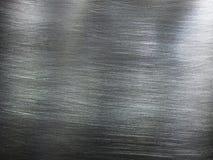 Textura de aço inoxidável Fotografia de Stock