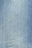 Textura de Backround das calças de brim da sarja de Nimes Fotografia de Stock Royalty Free