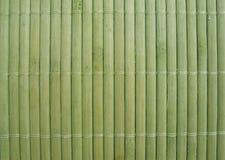 Textura de bambú de la estera Imagen de archivo
