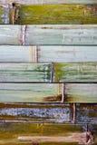 Textura de bambú de la pared Fotografía de archivo