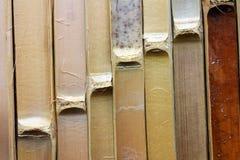 Textura de bambú de la pared Foto de archivo
