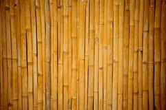 Textura de bambú de la pared del arte Fotografía de archivo libre de regalías