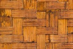 Textura de bambú de la pared del modelo fotos de archivo