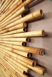 Textura de bambú del fondo del bastón Imagen de archivo