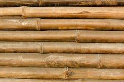 Textura de bambú del fondo del extracto de la cerca Fotografía de archivo libre de regalías