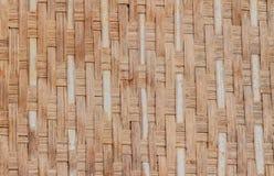 Textura de bambú del marrón de la cesta Fotografía de archivo libre de regalías