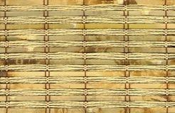 Textura de bambú del primer Fotografía de archivo