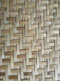 Textura de bambú tejida Fotografía de archivo libre de regalías