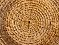 Textura de bambú de la cesta Fotografía de archivo libre de regalías