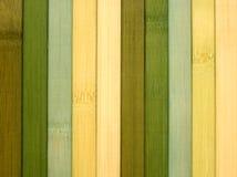 Textura de bambú de la estera Fotos de archivo