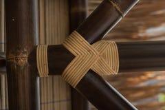 Textura de bambu foto de stock