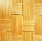 Textura de bambu da cesta, handwork foto de stock